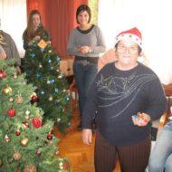 Dom Lovret - Posjet srednjoškolaca - Božic - 2012 - fotografija 2