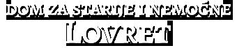 Dom za starije i nemoćne osobe Lovret - logotip - zaglavlje