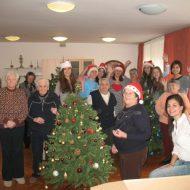 Dom Lovret - Posjet srednjoškolaca - Božic - 2012 - fotografija 3