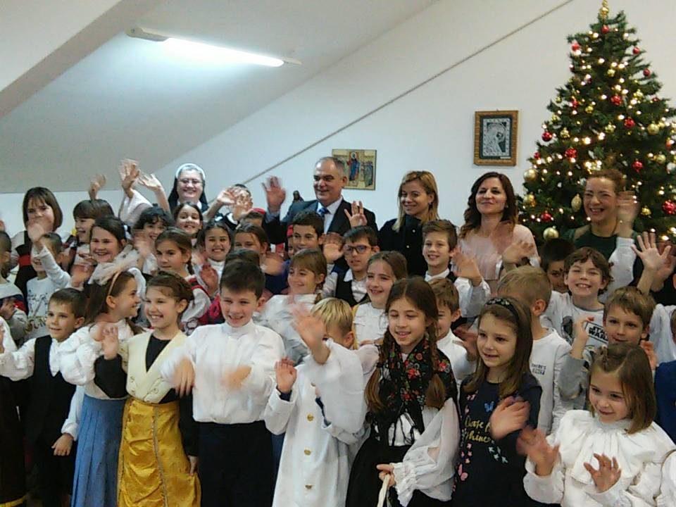 Dom Lovret - Božićni posjet Županije i Grada